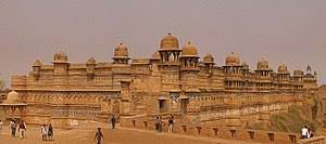 Where is Gwalior Fort located?