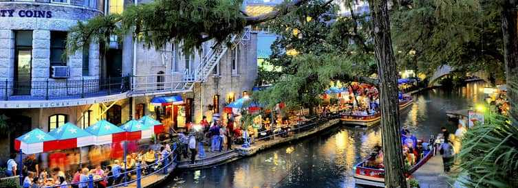 Where is River Walk Located in the USA?