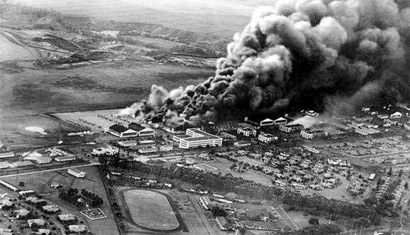 When was Pearl Harbour attacked by the Japanese Air Force?