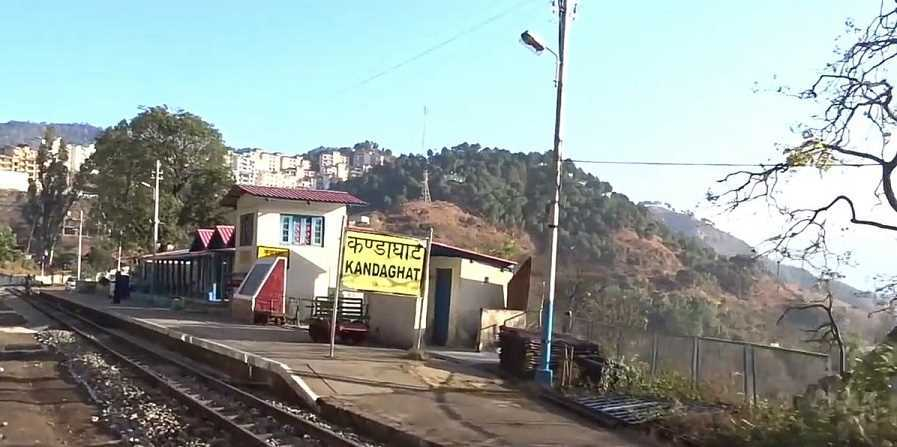 Kandaghat, a heritage railway station made entirely of wood and built by the British in 1903 was destroyed in the fire.In which state this Railway Station was located ?