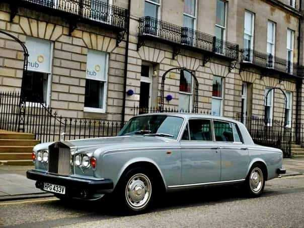 In 1971, the Rolls-Royce Silver Shadow two door models were given what name?