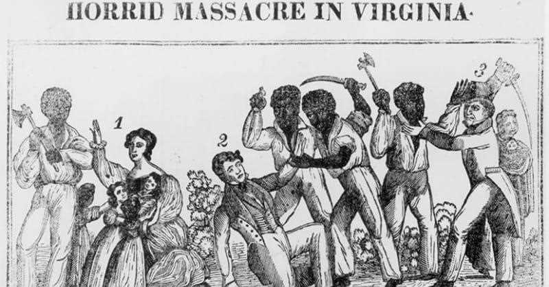 Who led a revolt of slaves in 1831?