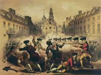 Who defended the soldiers accused of murder in the Boston Massacre?