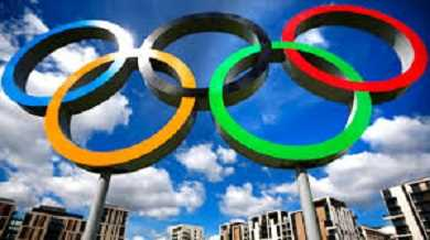 Who is the brain child behind modern Olympic games?