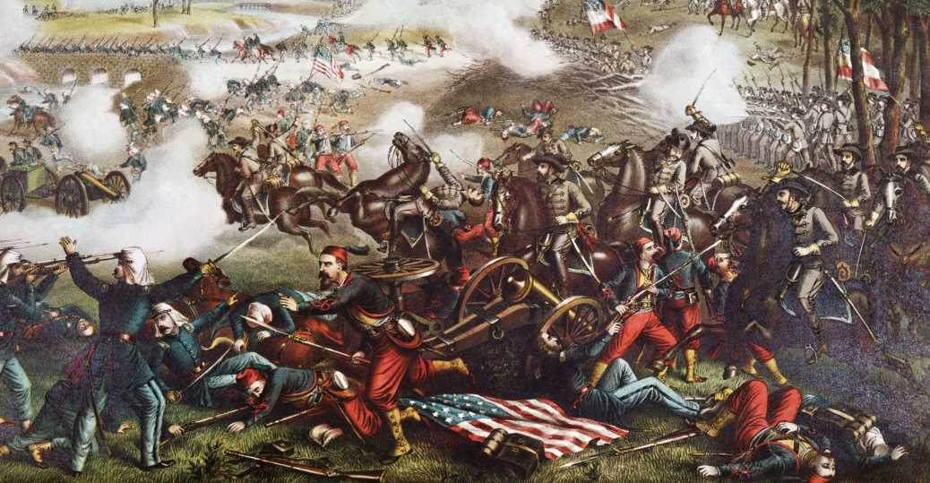 What was the first major battle of the Civil War?