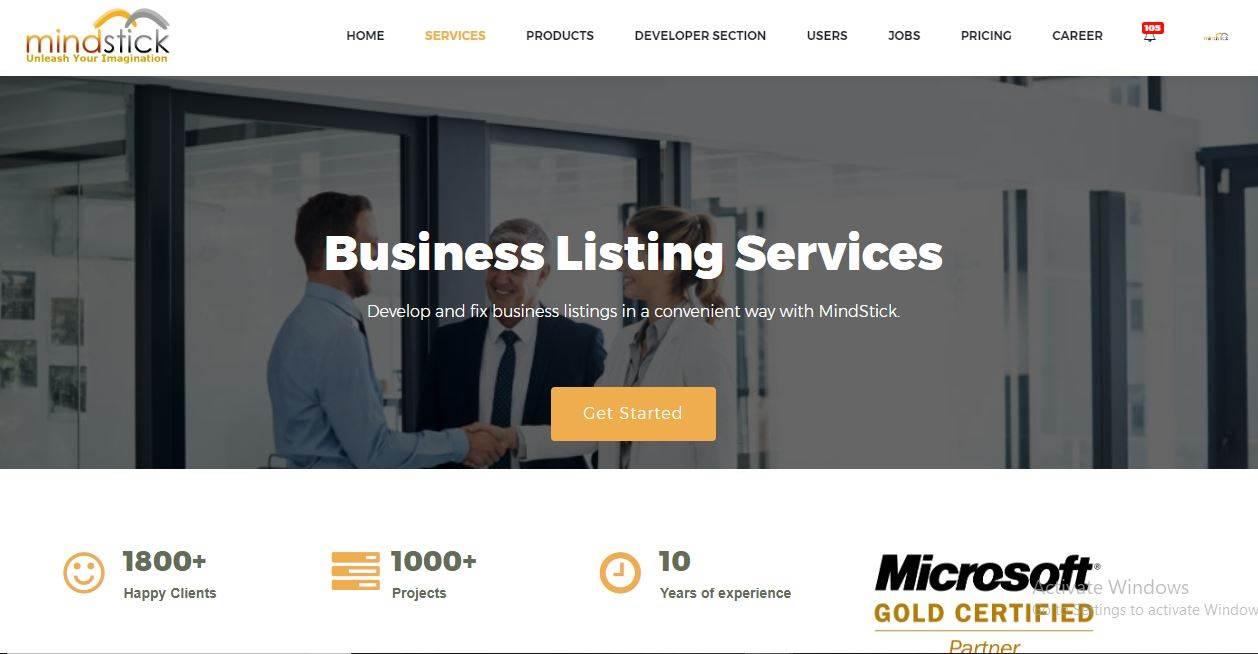 How to promote business listing concept at MindStick?