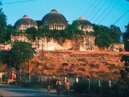 What is the case of Babri Masjid?