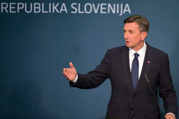 Name the president who has won for the second term in runoff election of Slovenia?