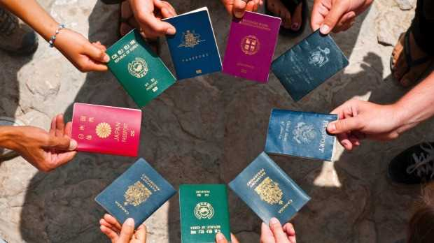 According to the Henley Passport Index, India ranks which position as the world