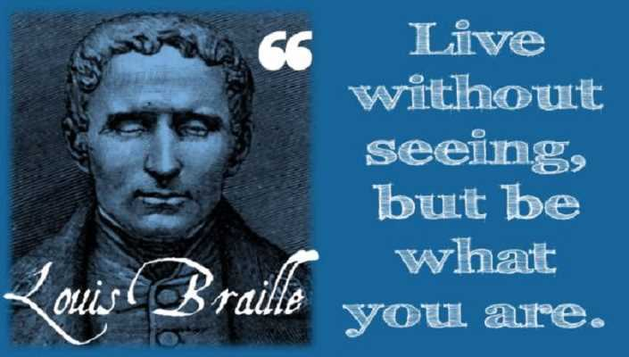 Who is Louis Braille ?