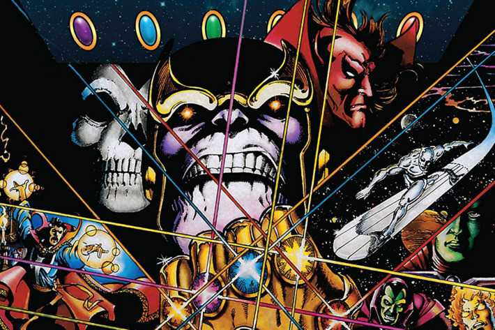 How closely does Avengers: Infinity War follow the comics?