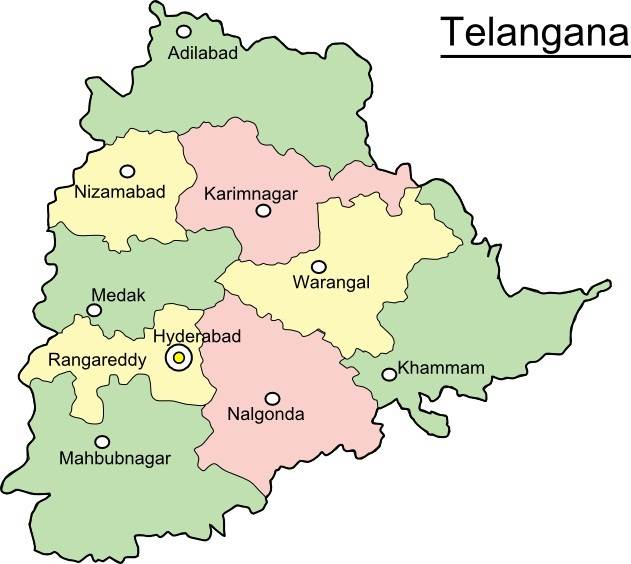 Describe the beauty of Telangana