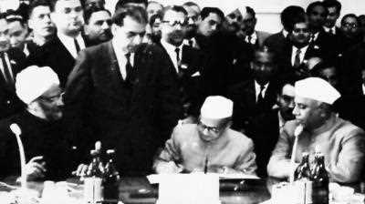 "What is the ""Tashkand Agreement"" in Indian History ?"