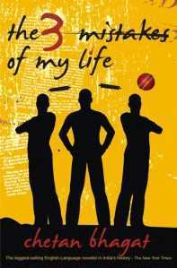 Who wrote the Novel Three Mistakes of my life?