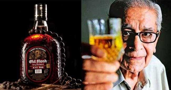 Name the creator of iconic Old Monk rum who died recently at the age of 88?