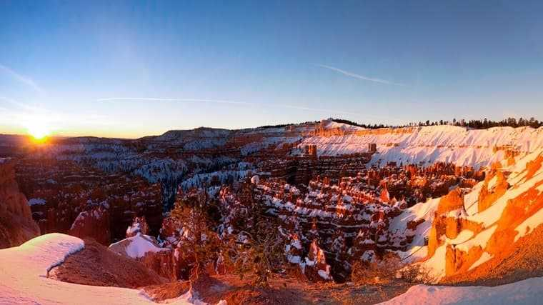 Where is Bryce Canyon National Park located?