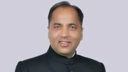 Who sworn-in as the new Chief Minister of Himachal Pradesh on 27th December 2017?