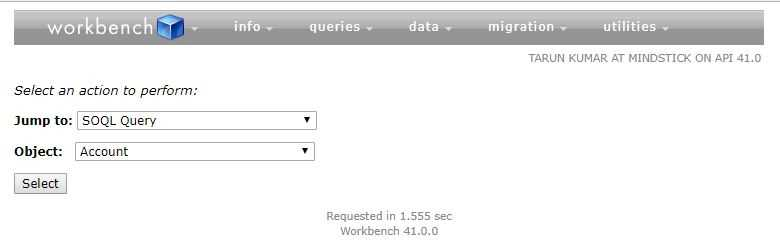 How to use Workbench tool of Salesforce?