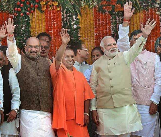 Do you think, BJP has played the extreme communal card, making Yogi Adityanath as UP CM?