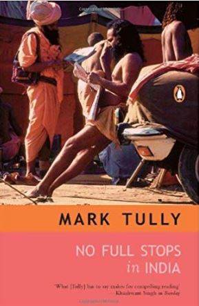 "Who is the author of the book ""No Full Stops in India""?"