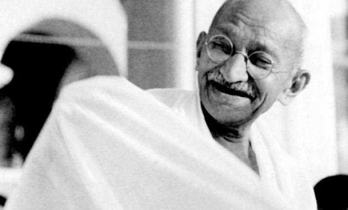 To how many years of imprisonment was Mahatma Gandhi sentenced for the first time in India?