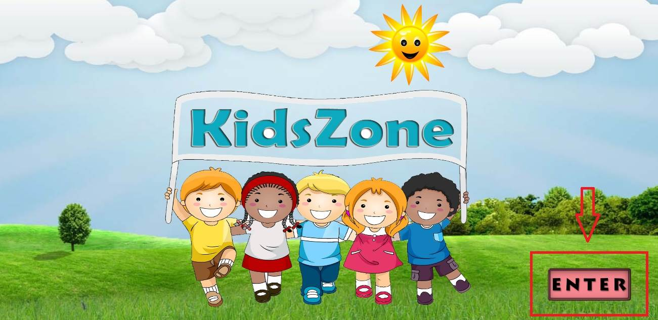 Do parents need to take the responsibility to open KidsZone for their Kids?