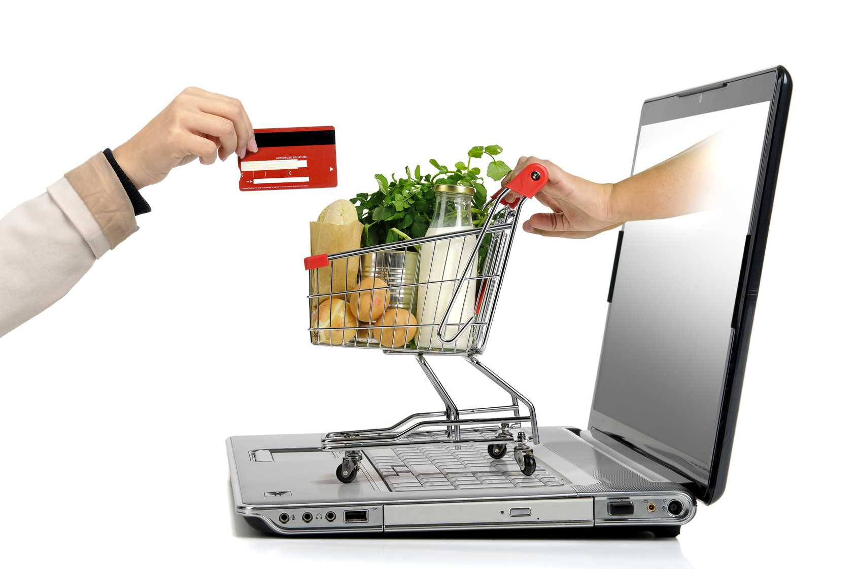 What is internet shopping?