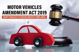 What do you know about Motor Vehicle Amendment Act 2019?