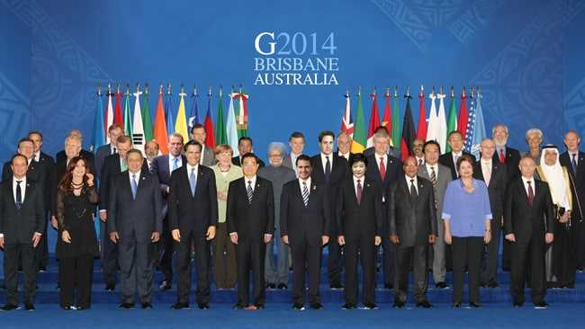 In which city was 9th G-20 Summit held in 2014?