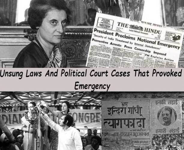In which year The state of emergency in India was deeclared ?