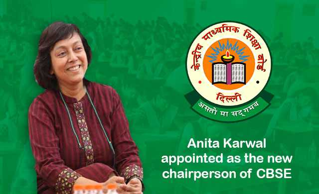 Who has been appointed as the Chairperson of Central Board of Secondary Education (CBSE) replacing Rajesh Kumar Chaturvedi?