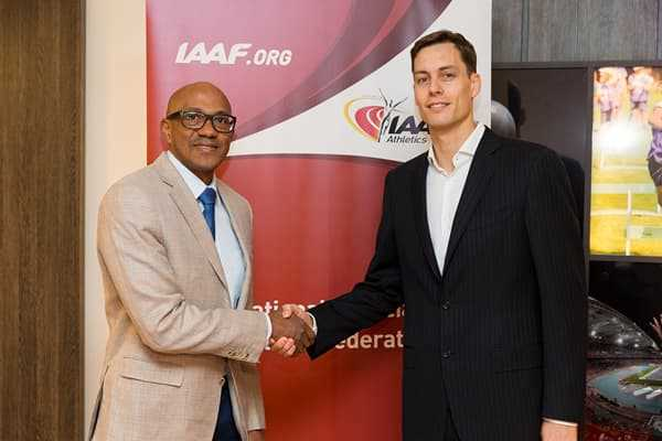Who has been appointed as the new chairman of the International Association of Athletics Federations (IAAF)?