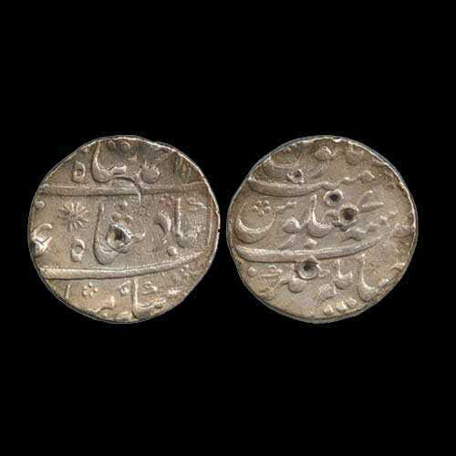 Who ruler of Bengal had issued a coin named Zurbe Murshedabad?