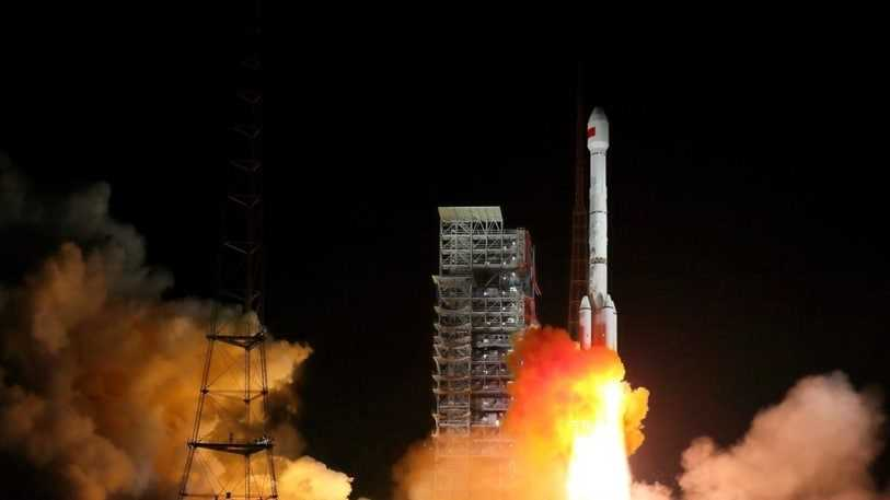 Which country launched BeiDou-3 satellites, aiming to build its own global positioning network with more than 30 satellites?