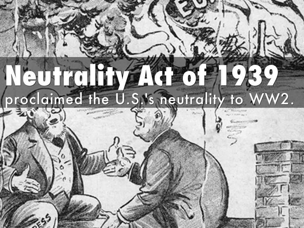 How did the United States help Britain in spite of the Neutrality Act?