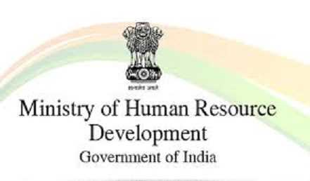 Who was the first Minister of Human Resource Development  ministry?