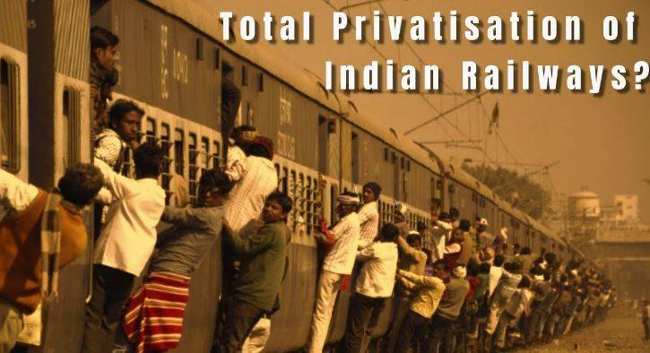what is the benefits by railway privatisation?
