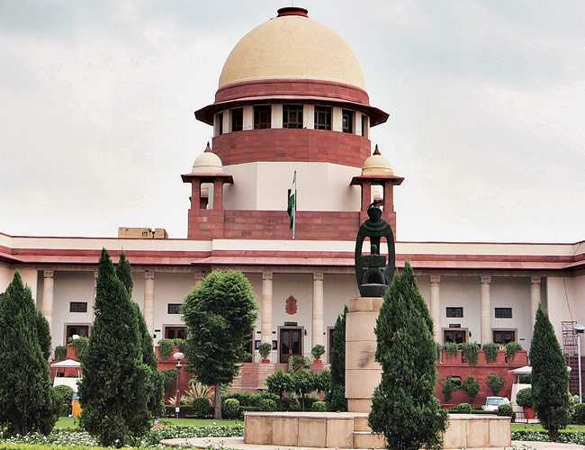 In which year Supreme Court of India came in to force?