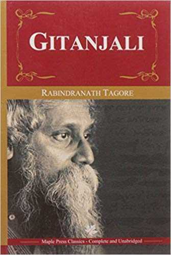Who translated the book Gitanjali in english?