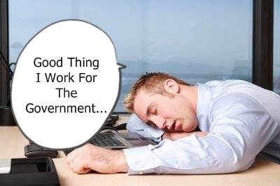 why government employees are lazy?