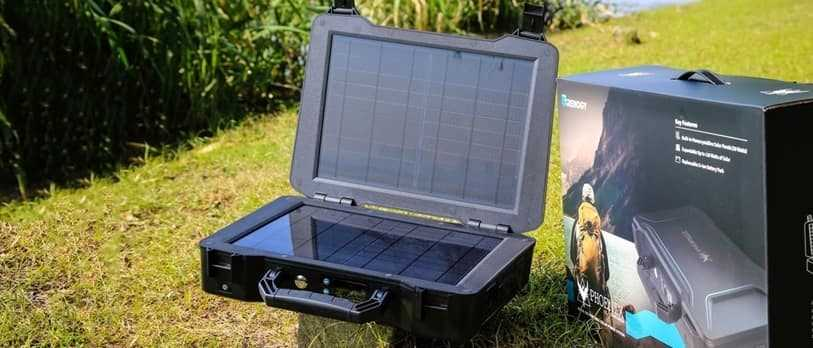 Which state government has launched 'Solar Briefcase' to provide electricity in remote areas?
