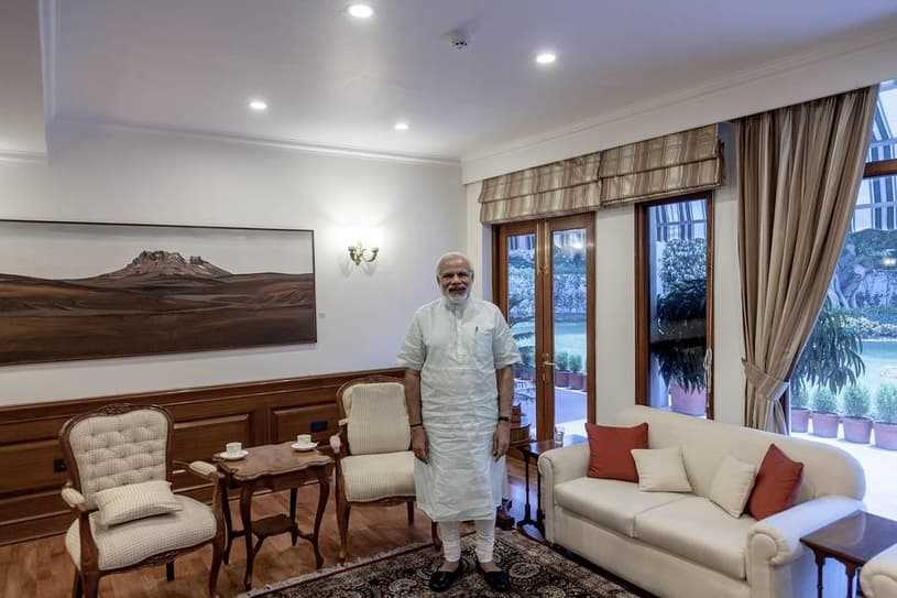 name of the official residence of the Prime Minister of India?