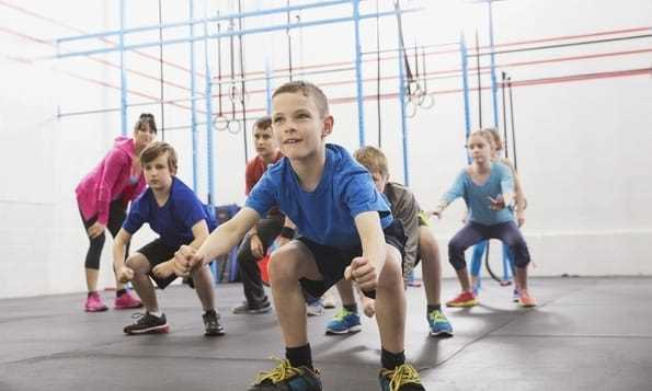 Can kids go to the gym and make muscles?