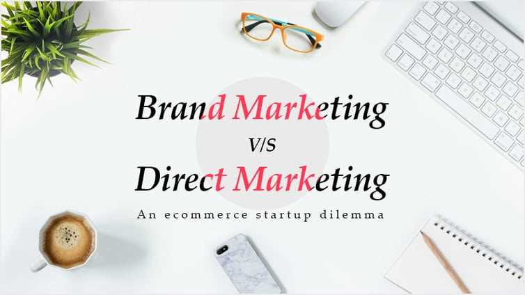 Difference between branding and direct marketing?