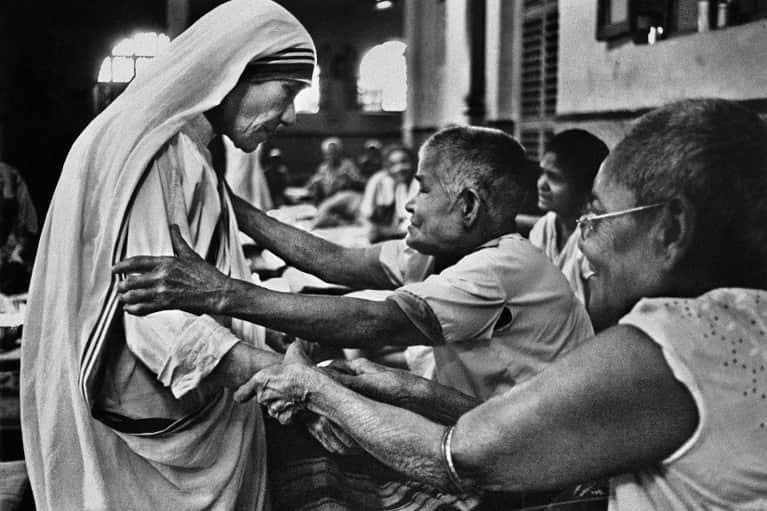 When did Mother Teresa win the Nobel Peace Prize?