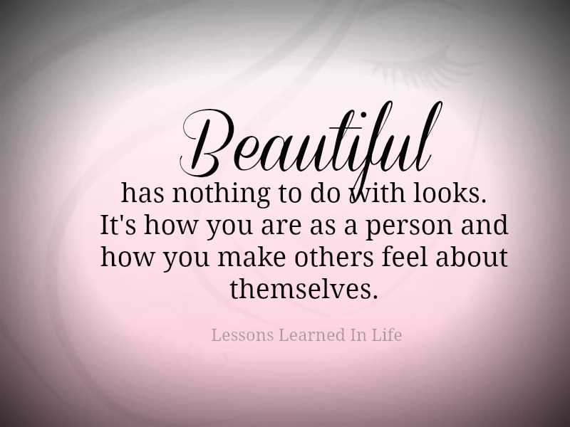 What do you think makes a person beautiful?